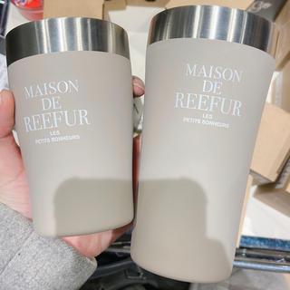 メゾンドリーファー(Maison de Reefur)のメゾンドリーファー タンブラー ベージュ 真空断熱タンブラー(タンブラー)