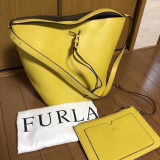 Furla - ☆極美品☆ フルラ ショルダーバッグ ヴィットリア バケツ 巾着 ステイシー