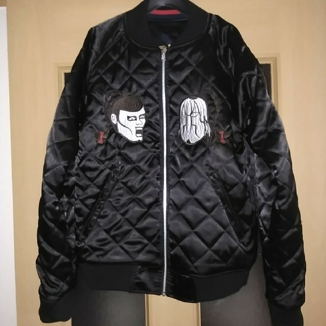 PUNK DRUNKERS(パンクドランカーズ)のパンクドランカーズ×キン肉マン スカジャン メンズのジャケット/アウター(スカジャン)の商品写真