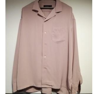 RAGEBLUE - RAGE BLUE  くすみピンクシャツ