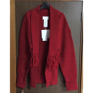 マルタンマルジェラ(Maison Martin Margiela)のXL新品76%off メゾンマルジェラ マフラー ニッ カーディガン セーター(ニット/セーター)