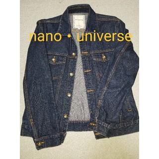 nano・universe - nano・universe ナノユニバース Gジャン デニムジャケット