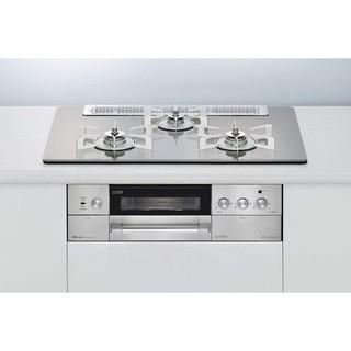 リンナイ(Rinnai)のリンナイ製デリシアガラストップW750プロパン(調理機器)
