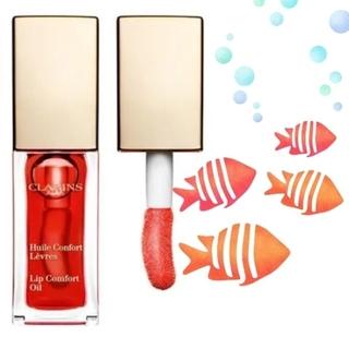 クラランス(CLARINS)のCLARINS Lip Comfort Oil  (03 red berry)(リップグロス)