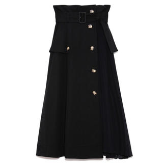 snidel - 今季 新品 雑誌掲載 ♡ SNIDEL トレンチ プリーツ スカート