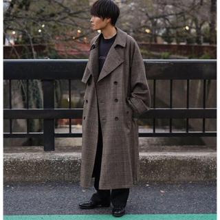 サンシー(SUNSEA)のstein 19aw Lay Oversized Overlap Coat(トレンチコート)