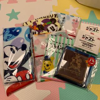 Disney - タオル、ポケットティッシュ、布巾セット