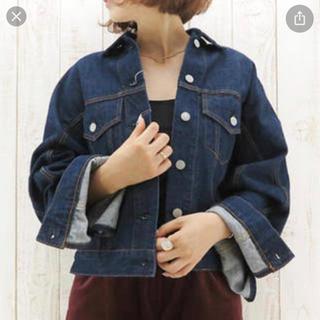 UNITED ARROWS - 定価42120円 SACRA フレアスリーブデニムジャケット