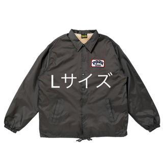 ポークチョップ  ボアジャケット JKT グレー Lサイズ(ナイロンジャケット)