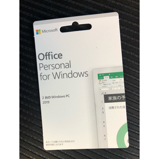 Microsoft - Microsoft office parsonal 2019 2台分 正規