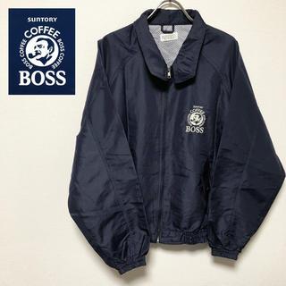 サントリー(サントリー)の非売品 サントリーオリジナルデザイン BOSS ナイロンジャケット ボス ロゴ(ナイロンジャケット)