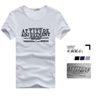 在庫処分 人気 半袖 Tシャツ メンズ レディース シンプルデザイン L 白(Tシャツ/カットソー(半袖/袖なし))