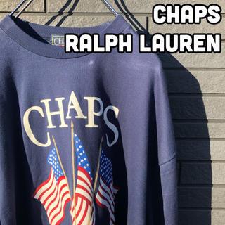 POLO RALPH LAUREN - 【レアデザイン】チャップス ロンT   星条旗