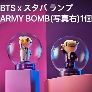 防弾少年団(BTS) - 【日本未発売,未開封】BTS スタバ ランプ ARMYBOMB 紫スーツ 送料込