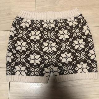 アニカ(annika)の韓国子供服 アニカ ANNIKA 雪 ニット パンツ ショートパンツ(パンツ/スパッツ)