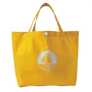 プチバトー(PETIT BATEAU)の新品未使用 プチバトー トートバッグ イエロー 黄色(トートバッグ)
