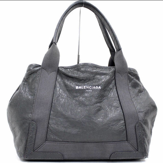 バレンシアガバッグ(BALENCIAGA BAG)のバレンシアガ トートバッグ レザー 正真正銘 正規品 ダークグレー(トートバッグ)