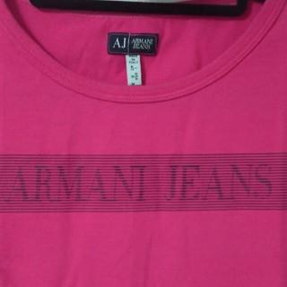 アルマーニジーンズ(ARMANI JEANS)のアルマーニ♡美品トップス(カットソー(半袖/袖なし))