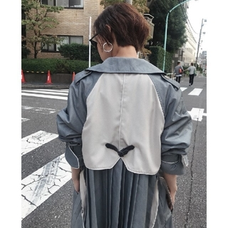 Ameri VINTAGE - アメリヴィンテージ VARIOUS BACK PLEATS TRENCH
