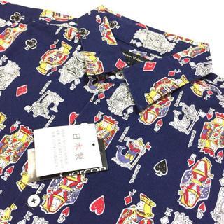 ギャルソンウェーブ(Garcon Wave)のSALE L 定価¥10,780 日本製 総柄 長袖シャツ オックスフォード(シャツ)