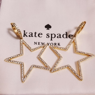 kate spade new york - Kate spade ケイト・スペード 星のピアス