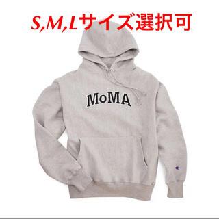 チャンピオン(Champion)の新品 Lサイズ グレー Moma Champion reverse weave(パーカー)
