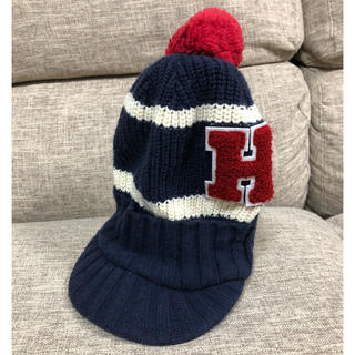 トミーヒルフィガー(TOMMY HILFIGER)のTOMMY HILFIGER トミーフィルフィガー ニット帽(帽子)