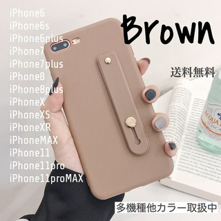 iPhone - 新品★ベルト付iPhoneケース11/6/7/8/X/XR/Plus/MAX