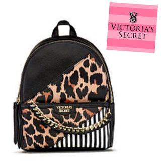 Victoria's Secret - 【セール】ビクトリアシークレット ミニリュック 新品・未使用 ヒョウ柄