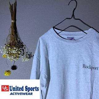 United Sports USA製 Tシャツ ストリート ROCKPORT(Tシャツ/カットソー(半袖/袖なし))