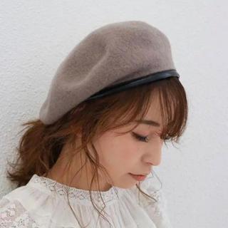 Ungrid - アングリッド パイピングベレー帽