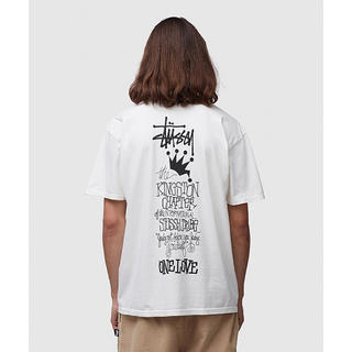 ステューシー(STUSSY)の希少 新品 STUSSY KINGSTON CHAPTER TEE(Tシャツ/カットソー(半袖/袖なし))