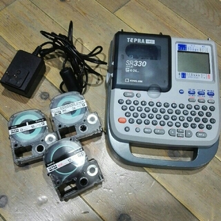 キングジム(キングジム)のしほかん様専用 テプラ SR330 テープ付き(OA機器)