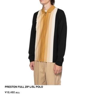 stussy full zip polo ポロシャツ 19fw Fall '19