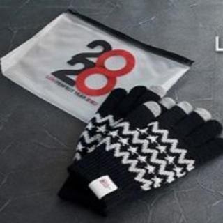 エグザイル(EXILE)の【新品未開封匿名配送】ローソン LDH スマホ手袋+スライダーポーチ(ノベルティグッズ)