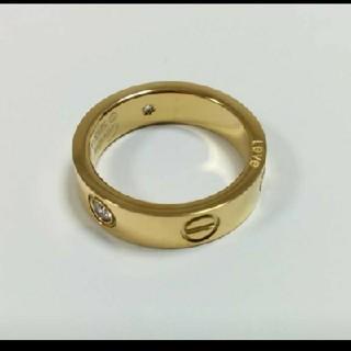 カルティエ(Cartier)の 【期間限定Sale】ビス リング トラベルジュエリー イエロー(リング(指輪))