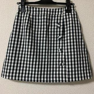 エルディープライム(LD prime)のギンガムチェック ラップスカート(ミニスカート)
