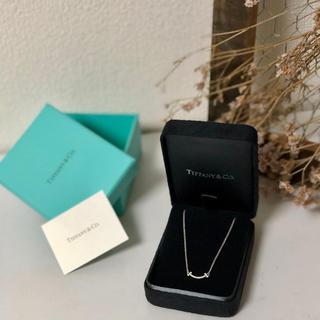 Tiffany & Co. - スマイル(ミニ)ペンダント/ Tスマイルネックレス