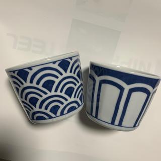 インディゴハンド(INDIGO HAND)のindigo ソバちょこ2個セット波佐見焼(食器)