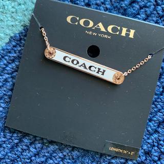 COACH - 新品 正規品 COACH コーチ ネックレス ローズゴールド レディース メンズ