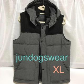 ⭐︎ jundogswear ⭐︎メンズ中綿ベスト・XL
