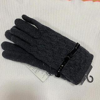 ランバンコレクション(LANVIN COLLECTION)の新品 ランバンコレクション 手袋 ラインストーン(手袋)