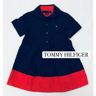 TOMMY HILFIGER - トミーヒルフィガー ワンピース 美品 80
