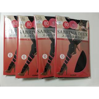 Sabrina - 新品 SABRINA  スッキリ美脚タイツ  4足セット