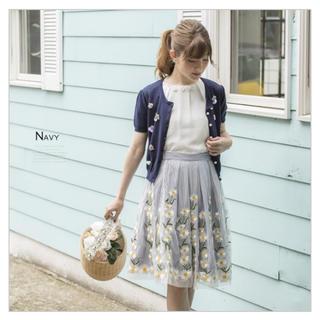 トッコ(tocco)のマーガレットスカート♡tocco closet(ひざ丈スカート)