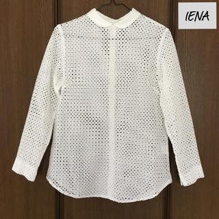 IENA - 【未使用】IENA イエナ カットワークレース ブラウス シャツ