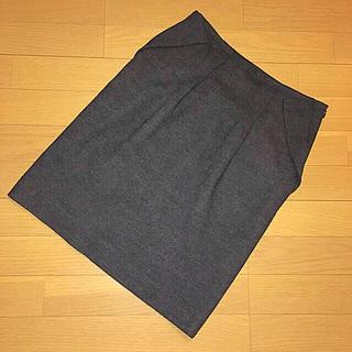 アンテプリマ(ANTEPRIMA)のスカート アンテプリマ ウール100% 濃グレー 40(ひざ丈スカート)