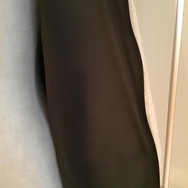 ZARA KIDS(ザラキッズ)のZARA KIDS  164cm  コントラストボアジャケット フリース  レディースのジャケット/アウター(ブルゾン)の商品写真