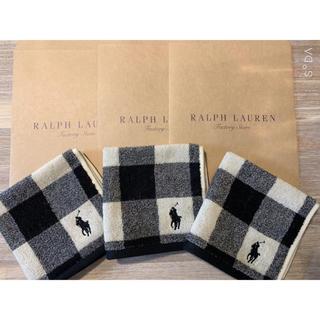 POLO RALPH LAUREN - ✨ポロラルフローレンハンカチ✨3枚セット