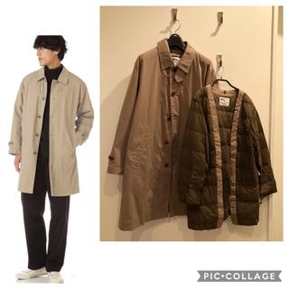 MARGARET HOWELL - MHL. 2WAY ダウンライナー 付 メンズS コート